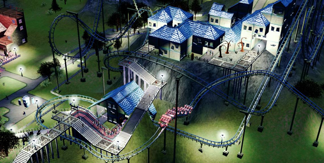 Rollercoaster Tycoon 3 pc spel