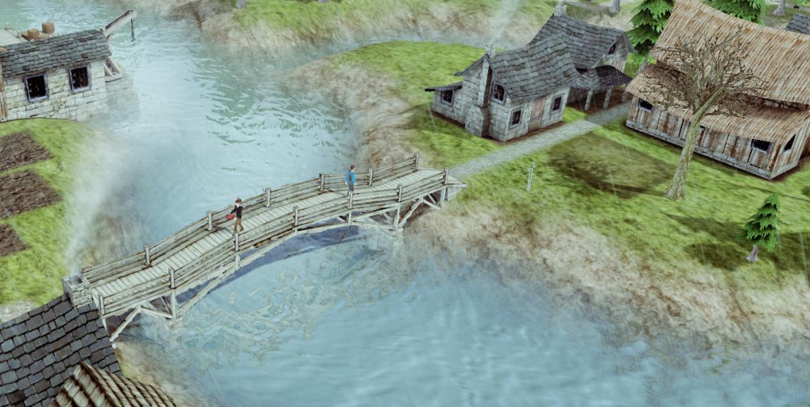 banished, een pc simulatie spel