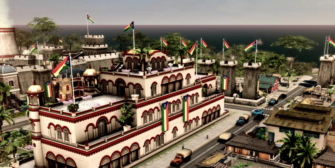 Tropico 5, een pc simulatie spel