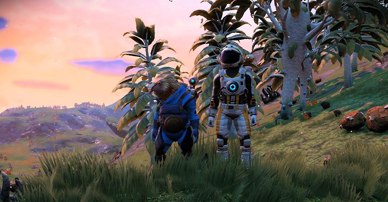 Samen spelen in No Man's Sky