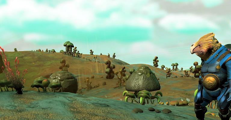 Gevaarlijke planeten in No Man's Sky