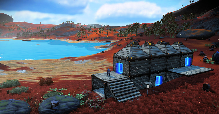 Bouw je base in No Man's Sky